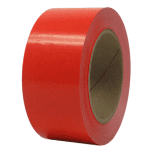 Tape PVC 48 mm x 66 m rød